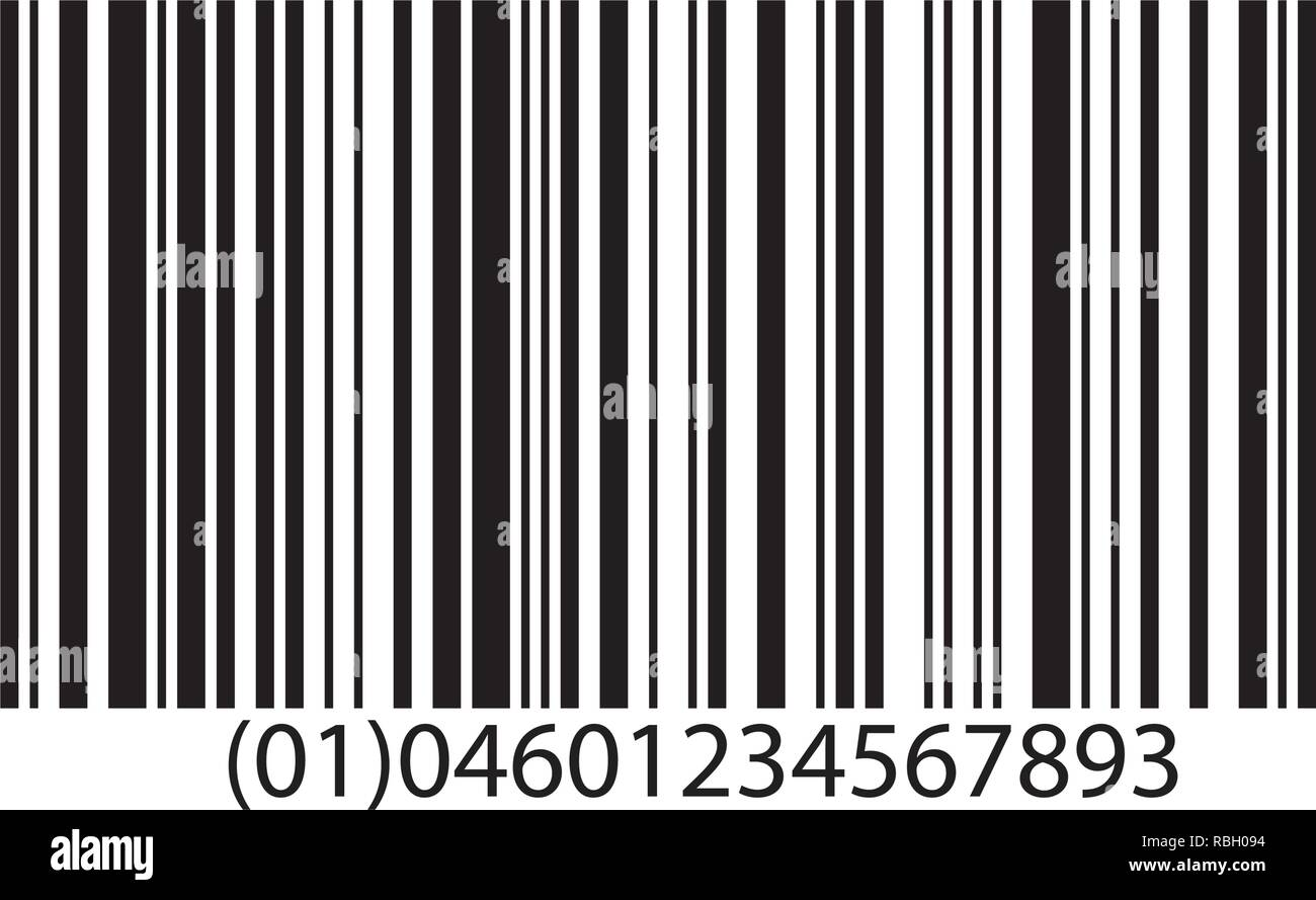 Barcode Vector Illustration Stock Vector Art & Illustration
