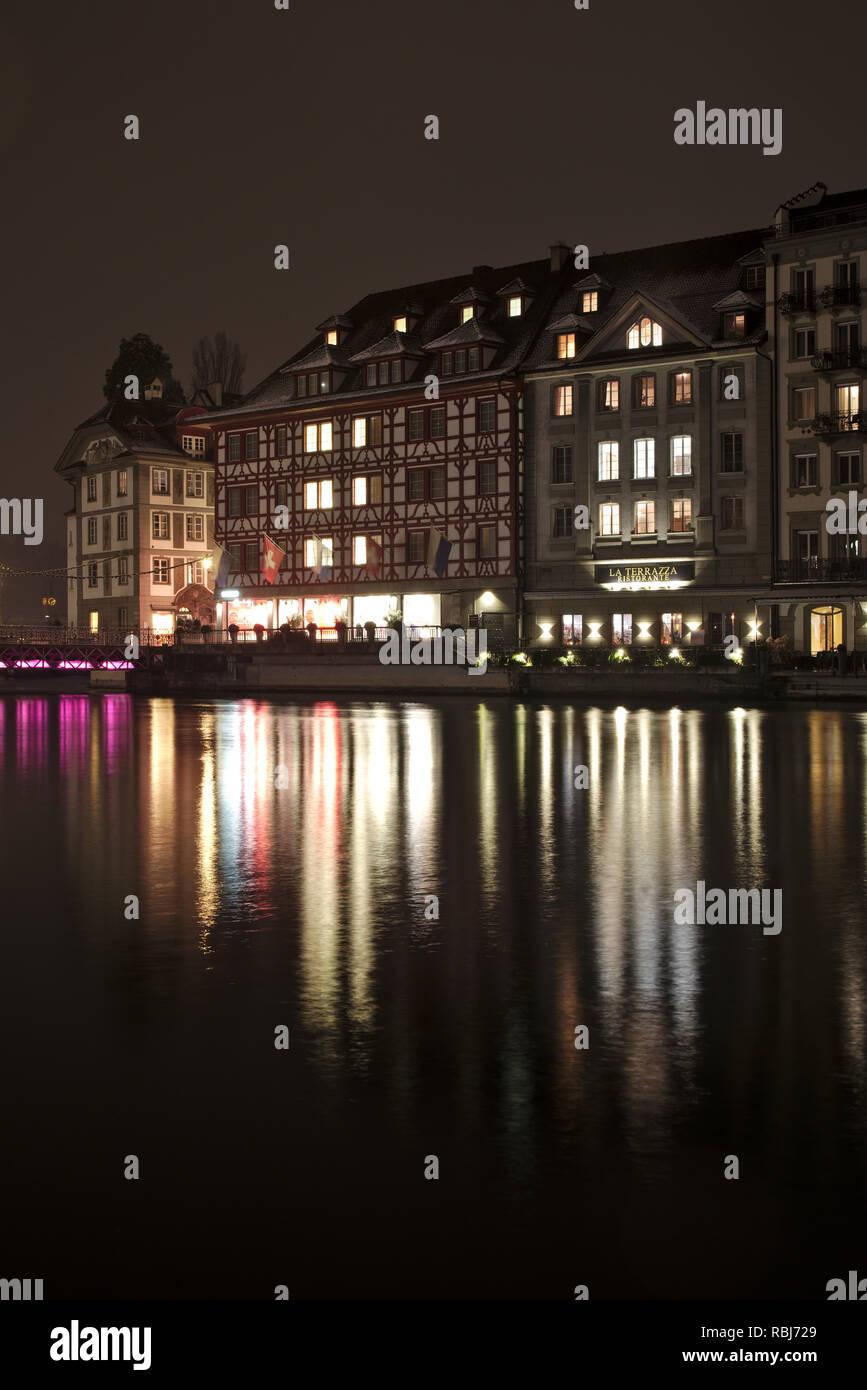Light Festival 2019 In Lucerne Switzerland Lilu