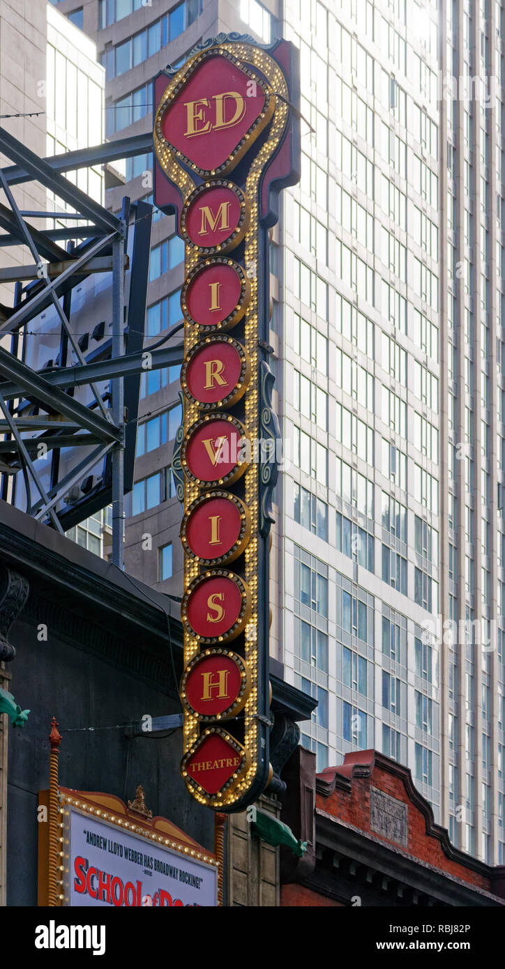 The Ed Mirvish Theatre on Yonge Street in Toronto, Canada - Stock Image