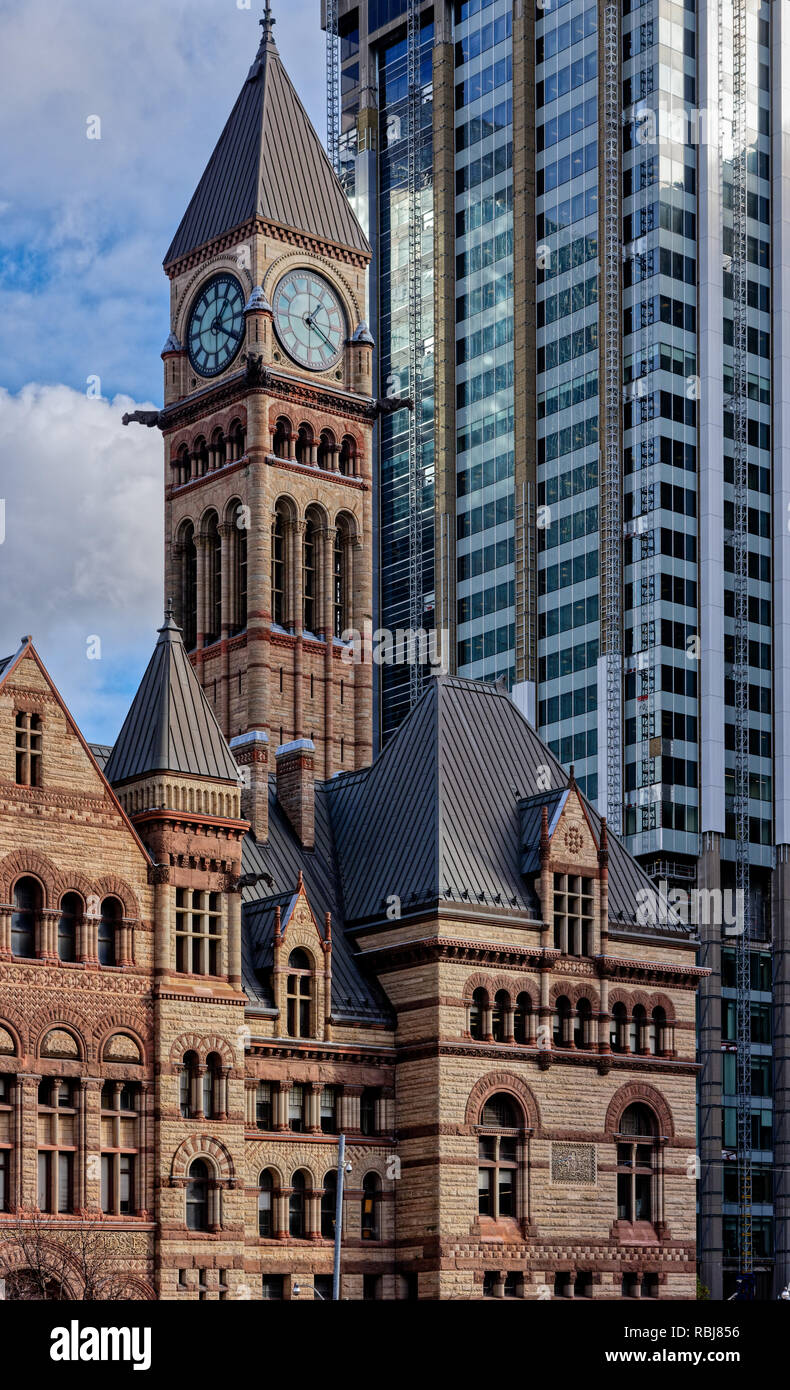 dali creative area by pwd architecture architects in my area The Old City Hall in Toronto contrasts with the modern architecture that  surrounds it - behind