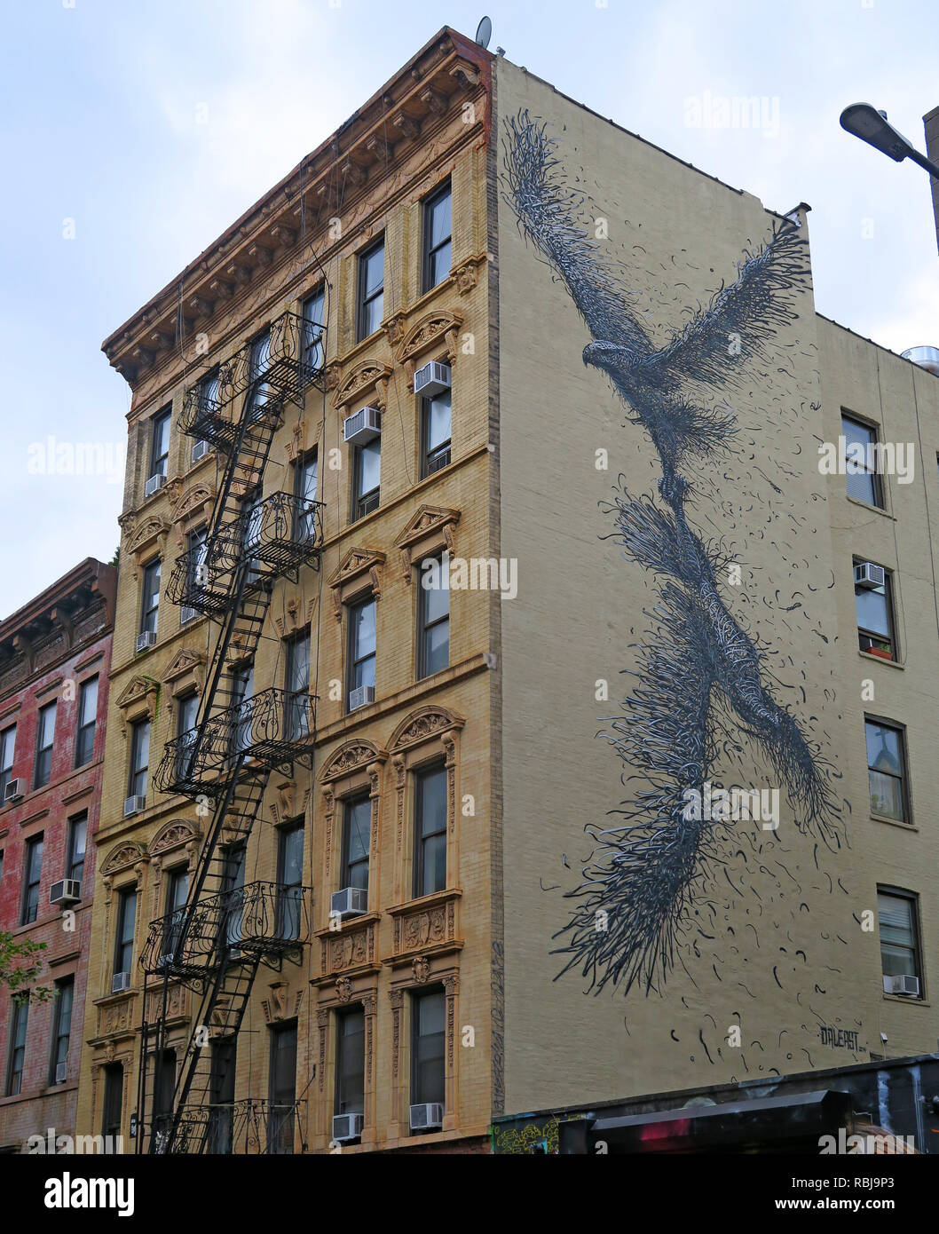 Art - Proletariat, 102, Saint Mark's Place, East Village, Manhattan New York, NYC, USA - Stock Image
