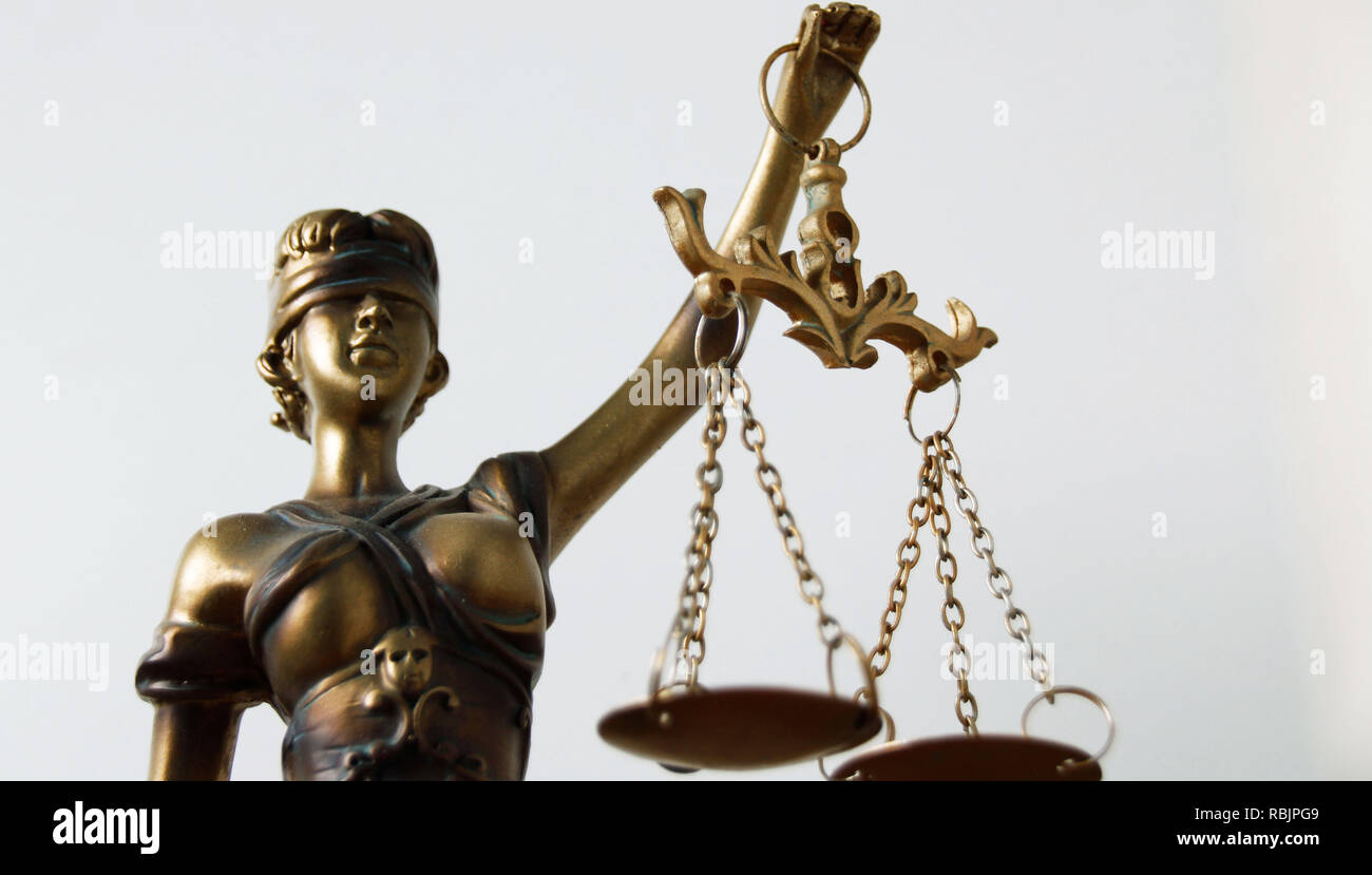 Statue of Justice - Stock Image