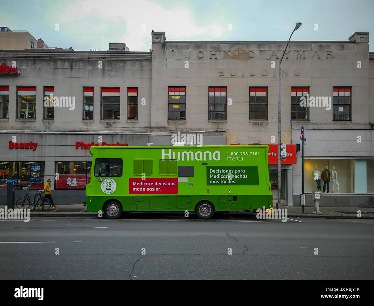Humana Health Insurance >> An Outreach Van For The Humana Health Insurance Company