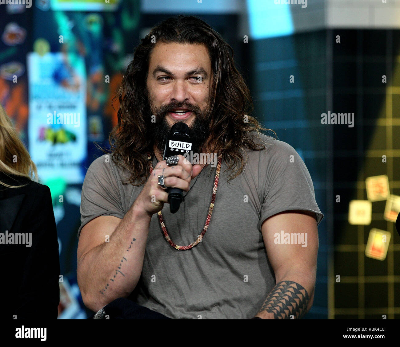 Aquaman Jason Momoa Stock Photos & Aquaman Jason Momoa