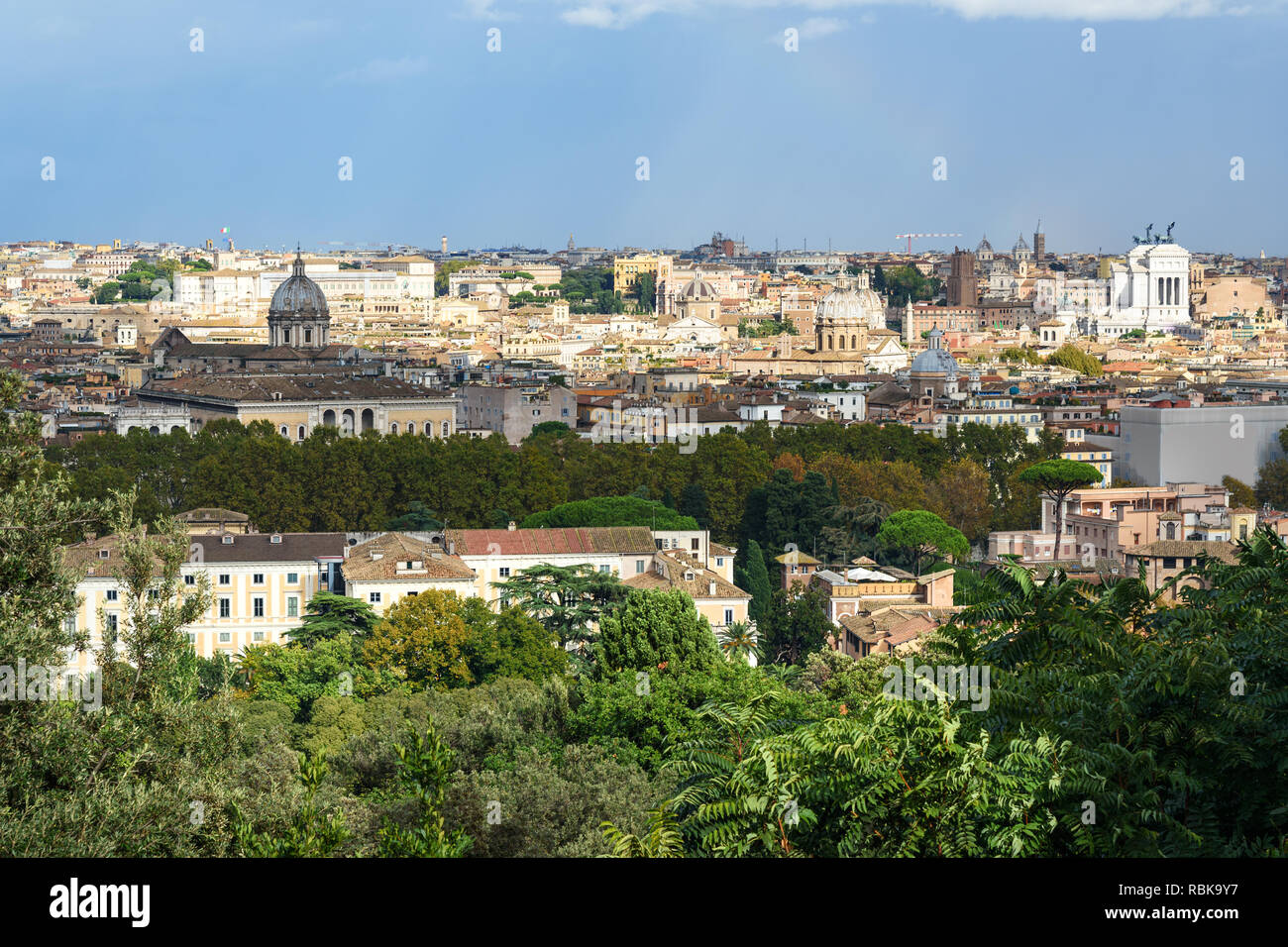 Gianicolo Garibaldi Rome Stock Photos Gianicolo Garibaldi