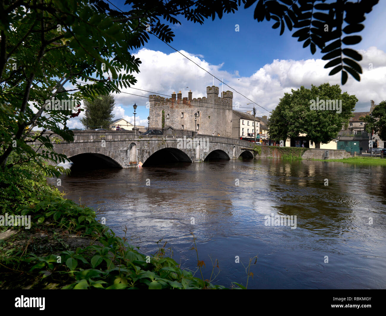 Whites Castle, Athy, Co. Kildare, Ireland - Stock Image