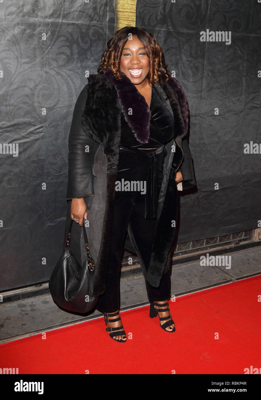 London, UK. 10th Jan, 2019. Chizzy Akudolu seen during The Gold Movie Awards at Regent Street Cinema in London. Credit: Keith Mayhew/SOPA Images/ZUMA Wire/Alamy Live News Stock Photo