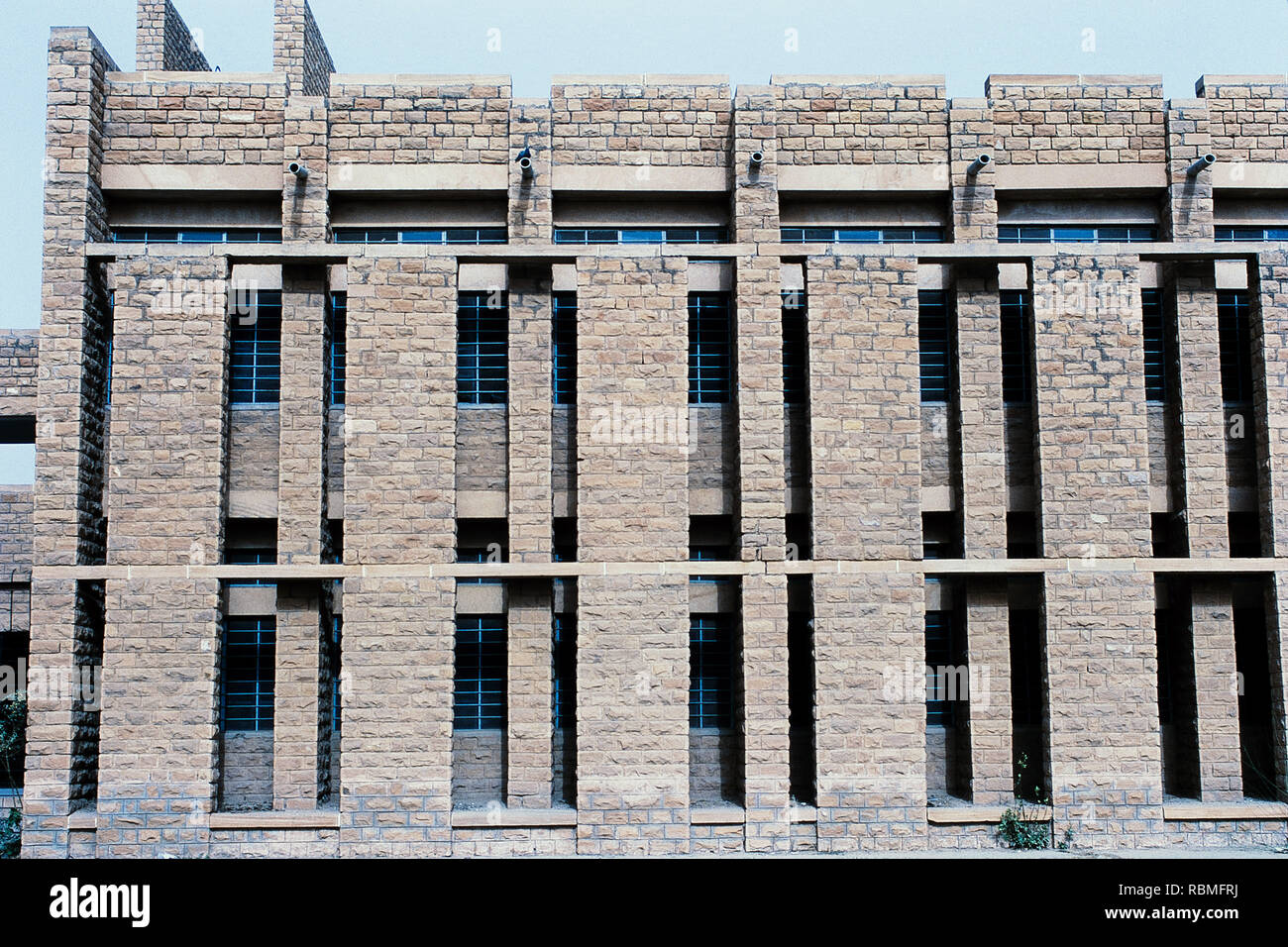 Exterior of Faculty of Science, Jodhpur, Rajasthan, India, Asia - Stock Image