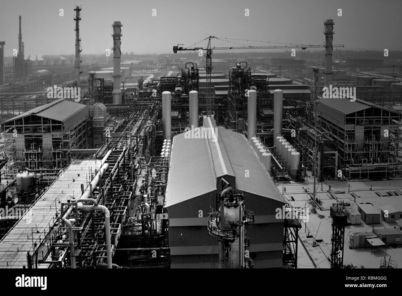 Indian Oil Corporation Limited, Panipat, Haryana, India, Asia - Stock Image