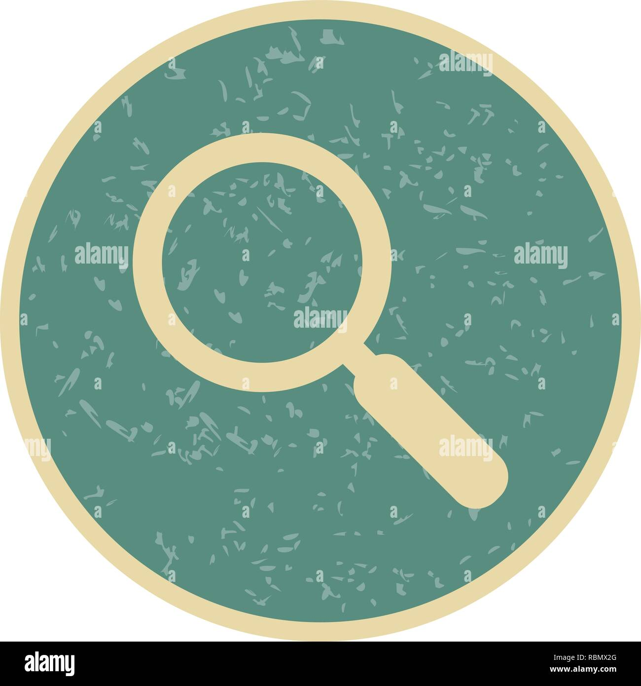 Vector Find Icon - Stock Image