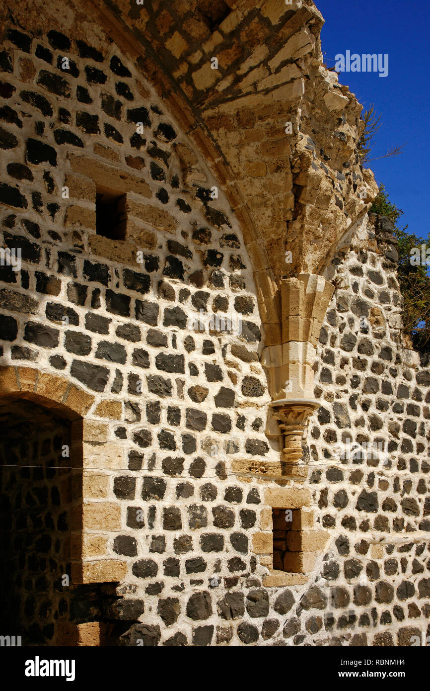 Chapel, The Margat castle of the crusaders. Marqab, Syria, Middle East Stock Photo