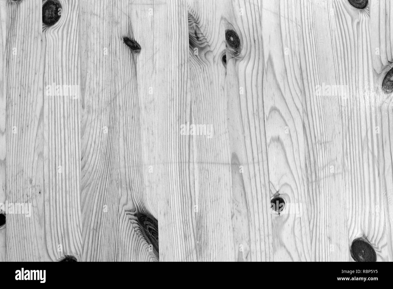 Wood planks background. Wood texture with natural pattern. Wooden board surface. Decor or design. Timber wall for copy space - Stock Image