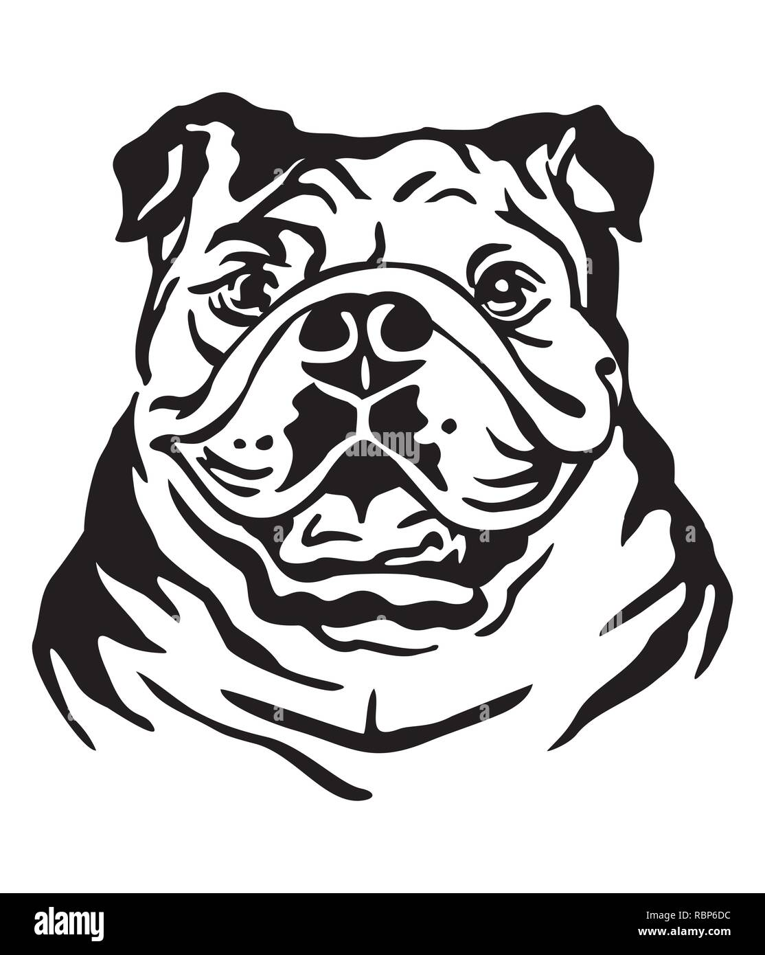 Bulldog Tattoo Stock Photos & Bulldog Tattoo Stock Images - Alamy