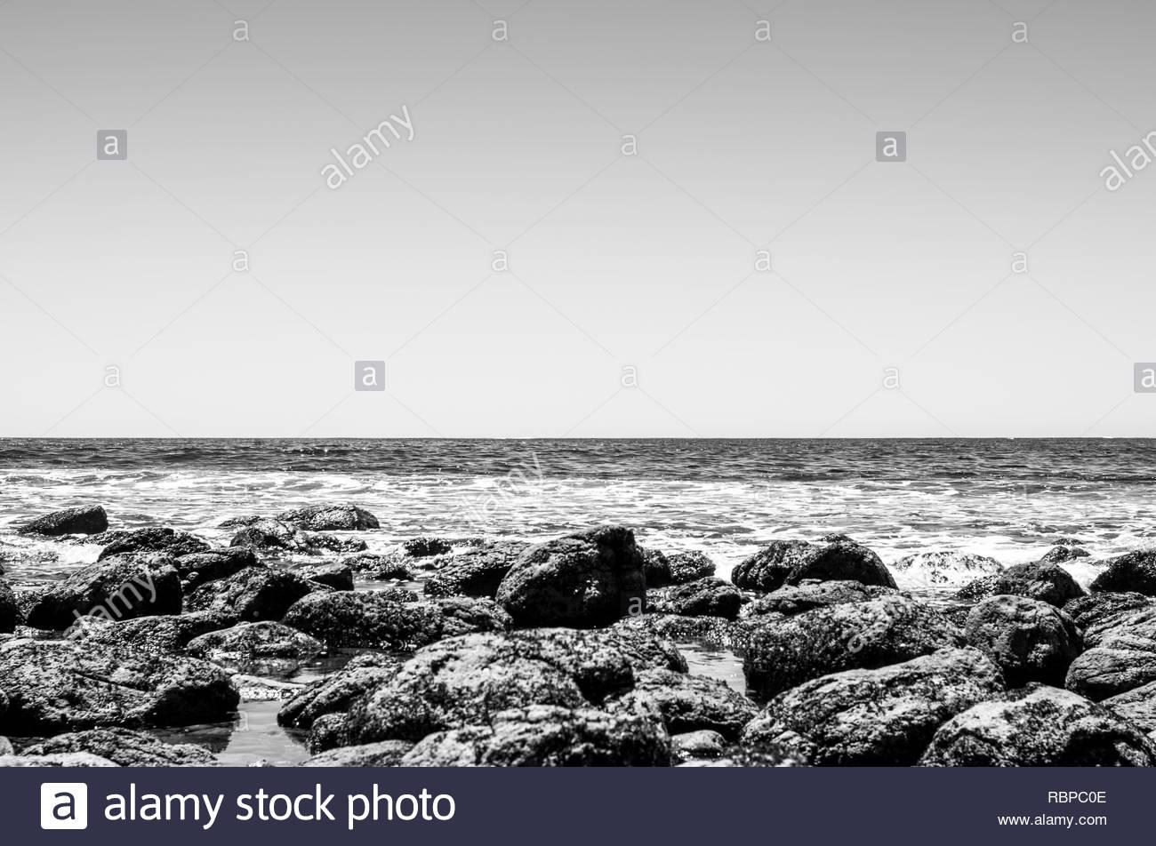 Waves Crashing - Stock Image