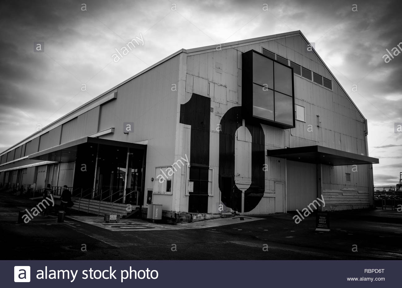 Shed 10, Auckland - Stock Image