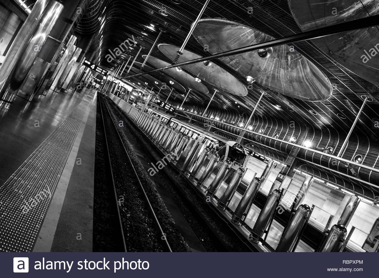 Britomart Train Station - Stock Image