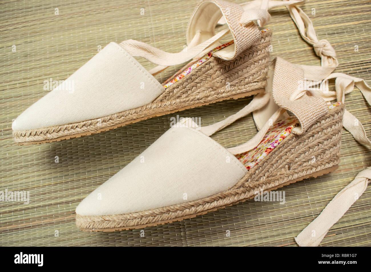 Women's summer sandals pretty vintage