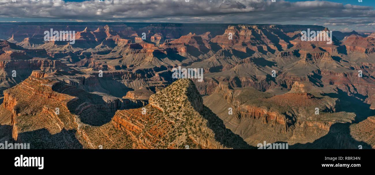 Sunset, South Rim, Grand Canyon National Park, Arizona Stock Photo