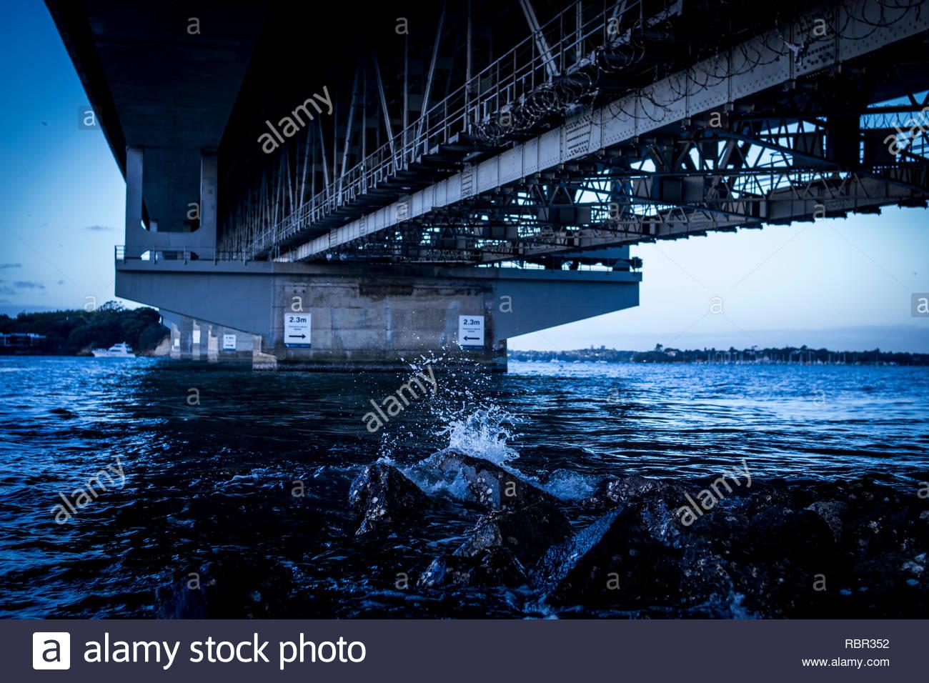 Auckland Harbour Bridge - Stock Image