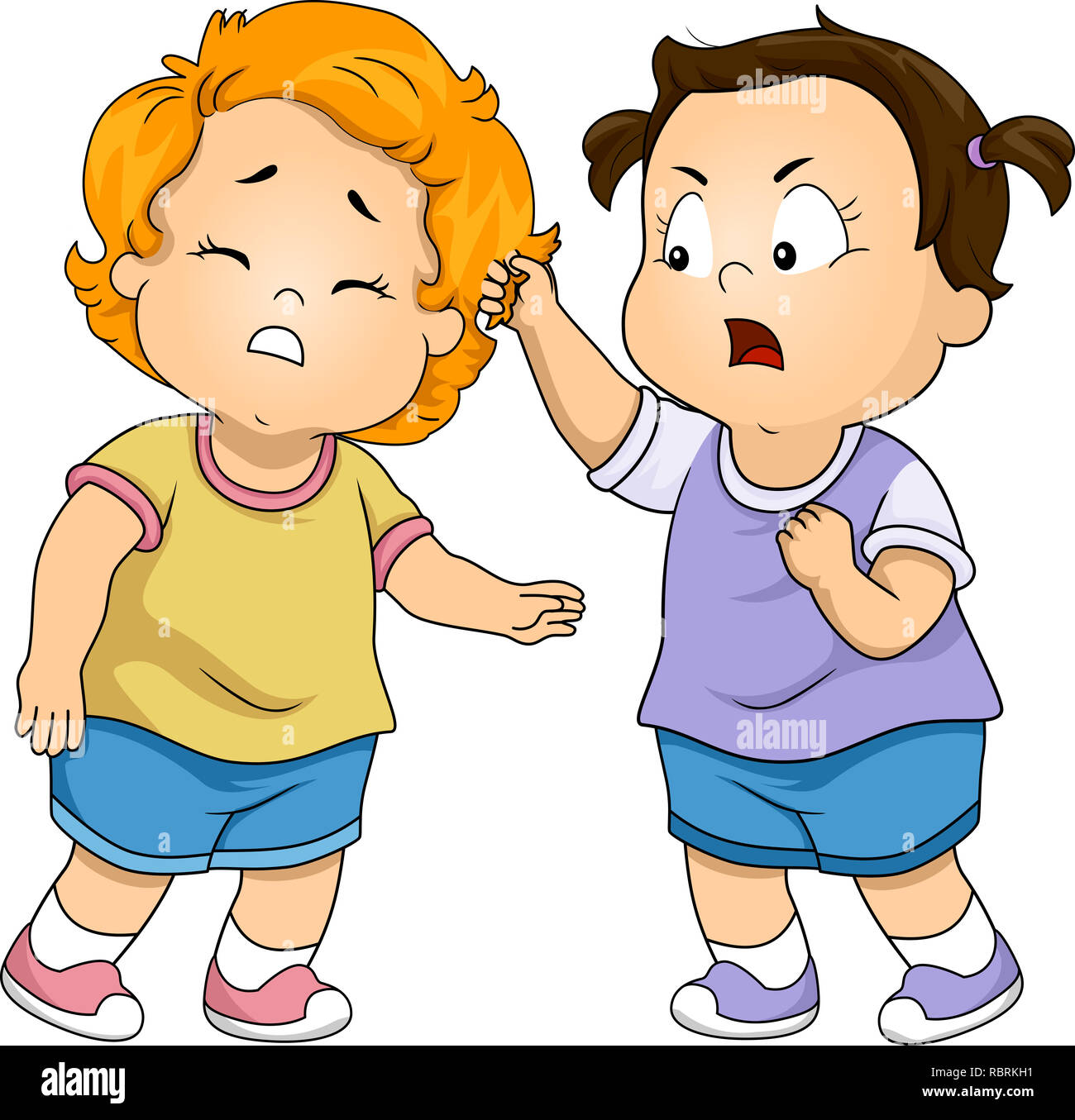 Fighting Kids Cut Out Stock Images Pictures Alamy