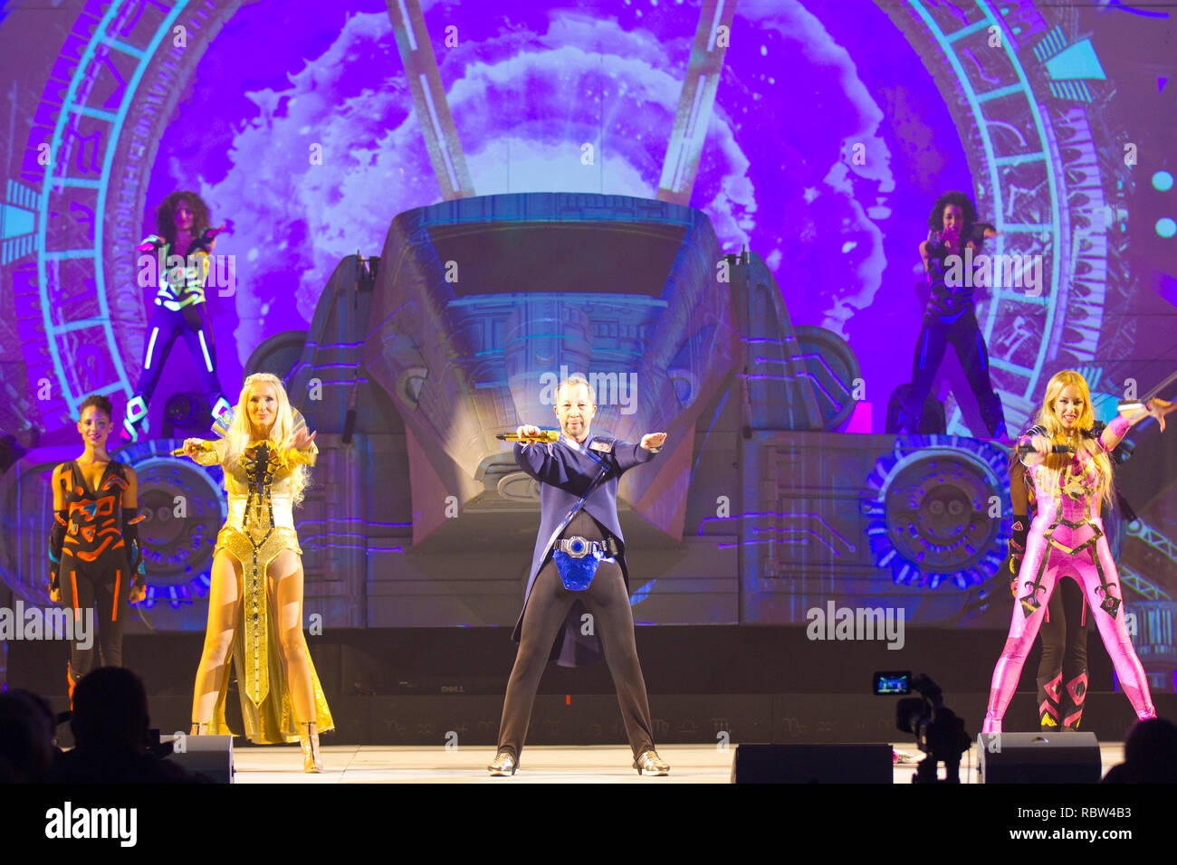 Rust, Germany - January 11, 2019: DJ Bobo launches his new 2019 Tour
