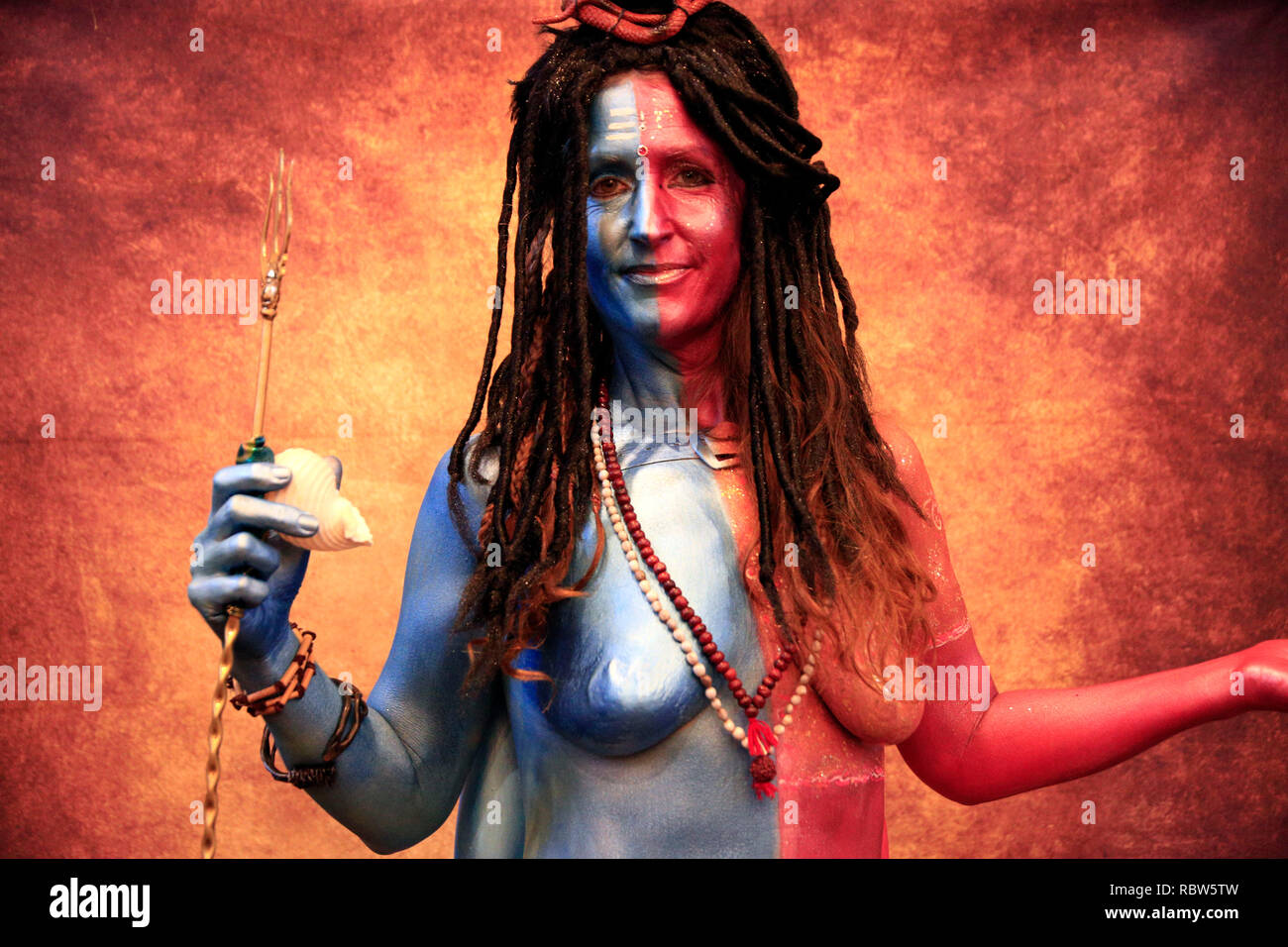 Body Art Festival High Resolution Stock Photography And Images Alamy