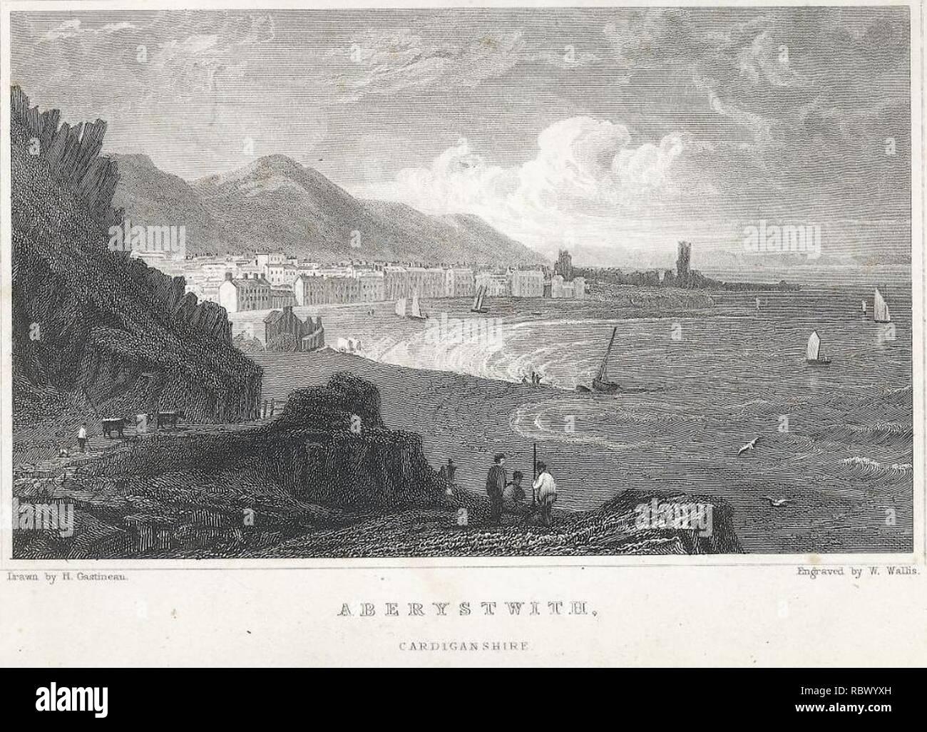 Aberystwith, Cardiganshire (1133529). - Stock Image