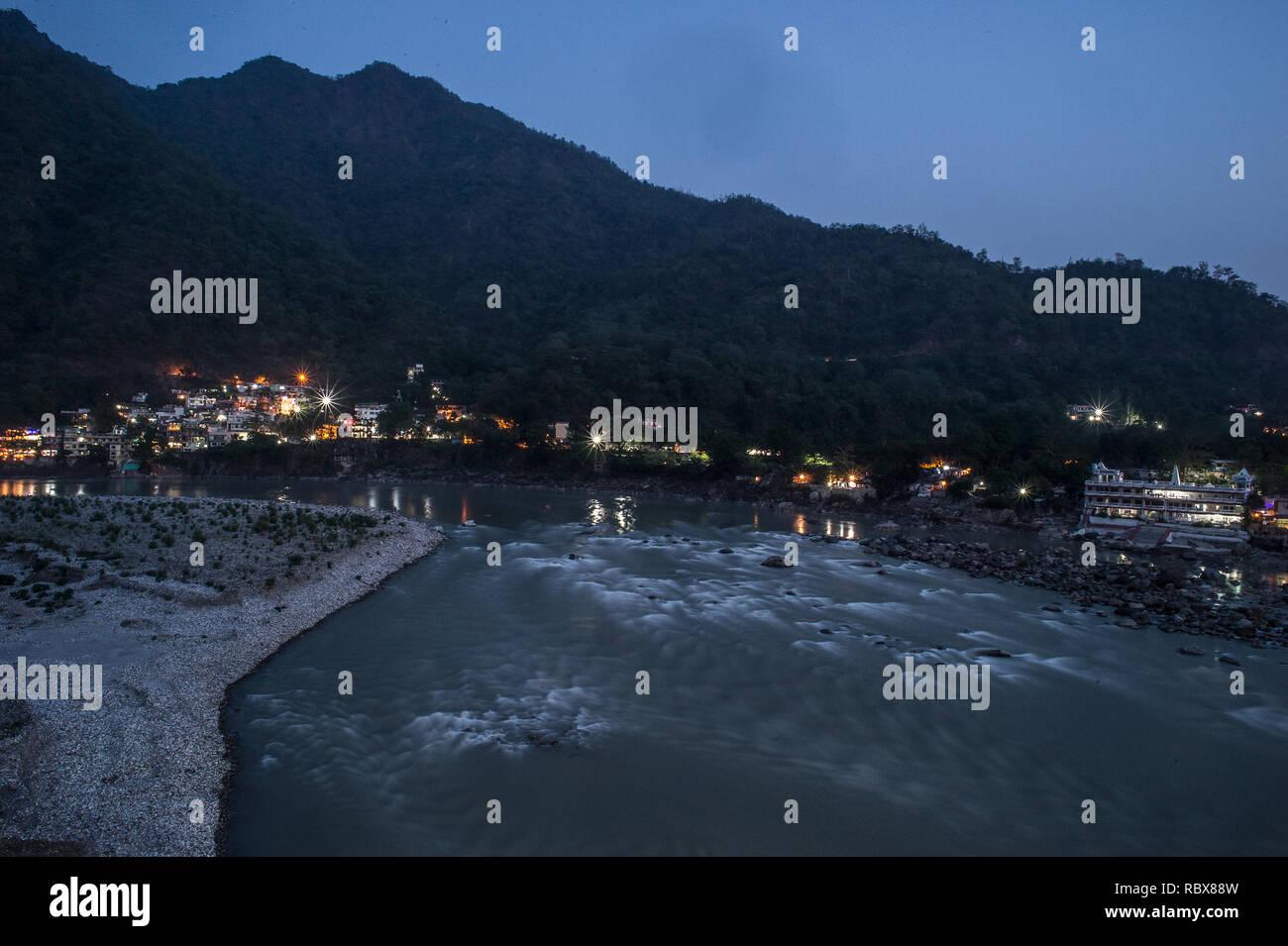 Ganges River, Rishikesh, India - Stock Image
