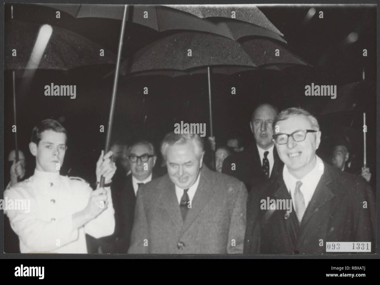 Activiteiten minister van financien zijlstra in 1966 1967, Bestanddeelnr 093-1331. - Stock Image