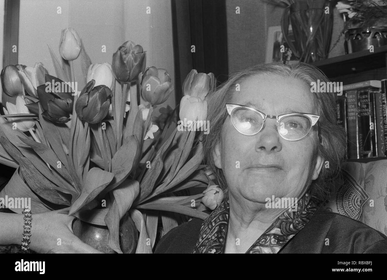 Actrice Hetty Beck is 75 jaar geworden, Bestanddeelnr 914-9418. - Stock Image