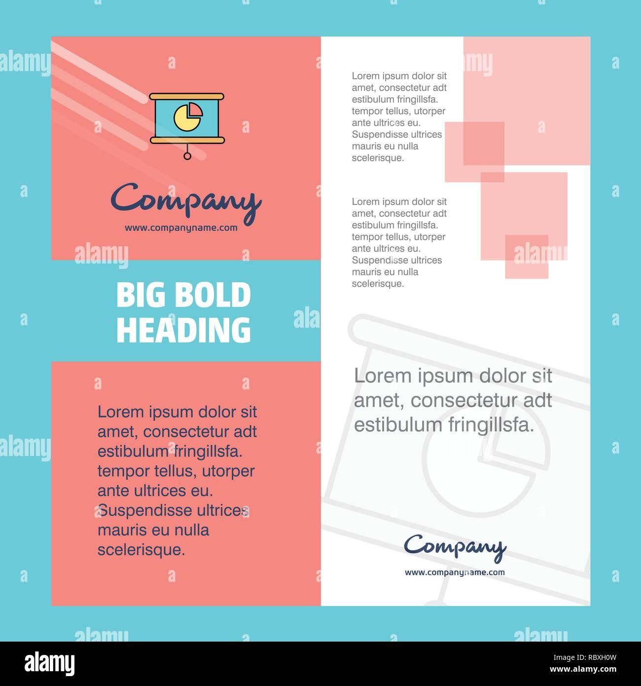 Presentation Company Brochure Title Page Design Company