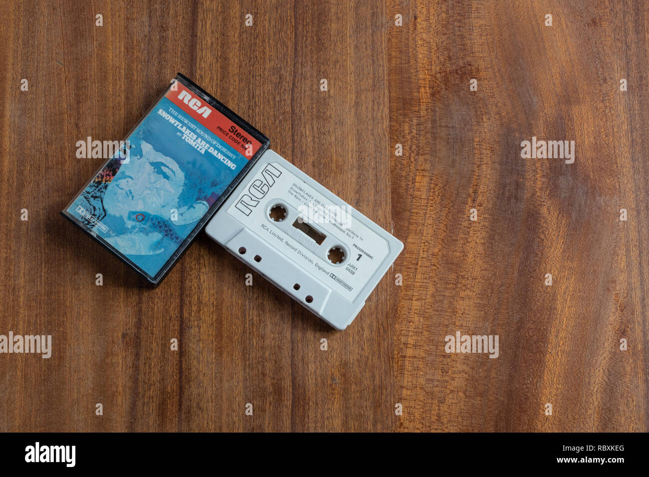 Synthesiser realisations by Tomita of music by Debussy - Stock Image