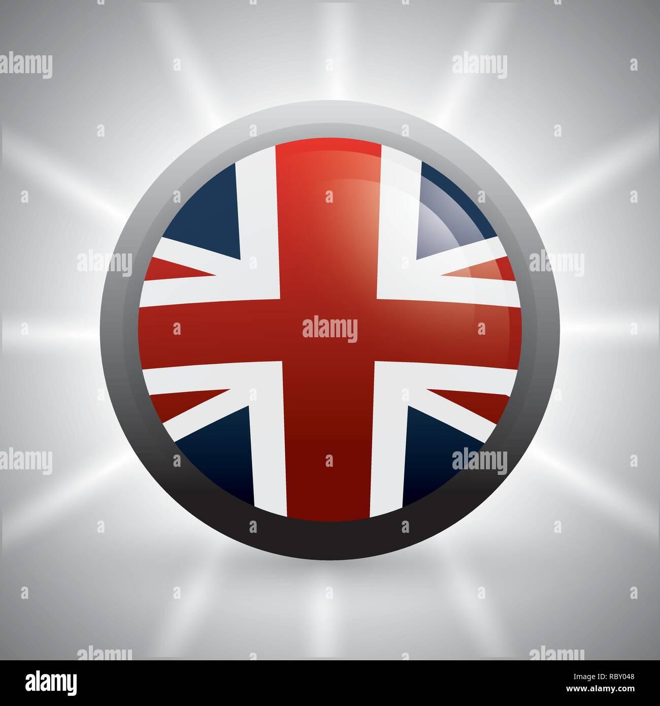 London landmarks design  - Stock Image
