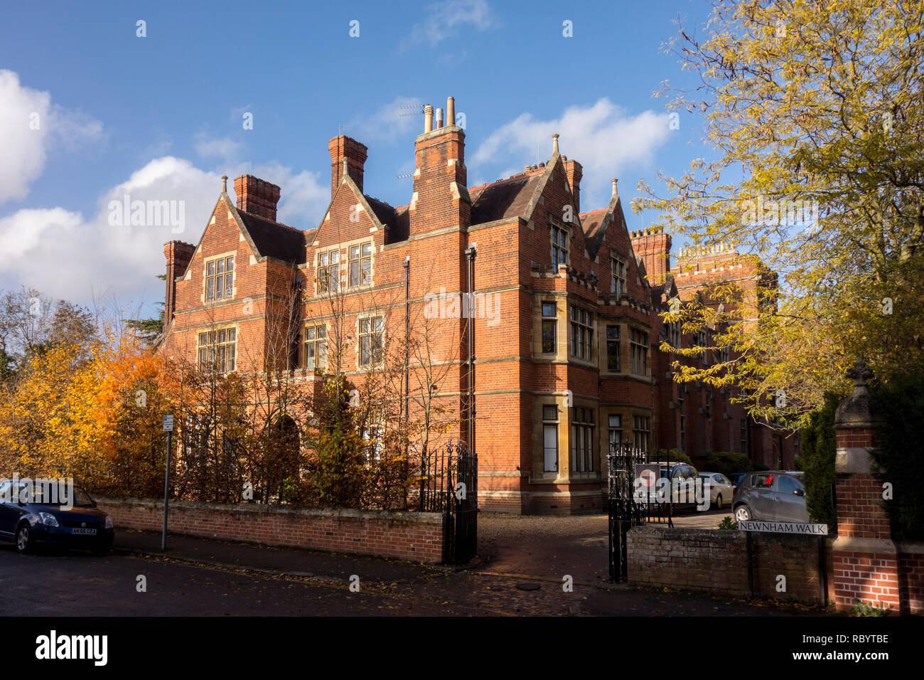 Ridley Hall, Cambridge, theological college, Cambridge, UK - Stock Image
