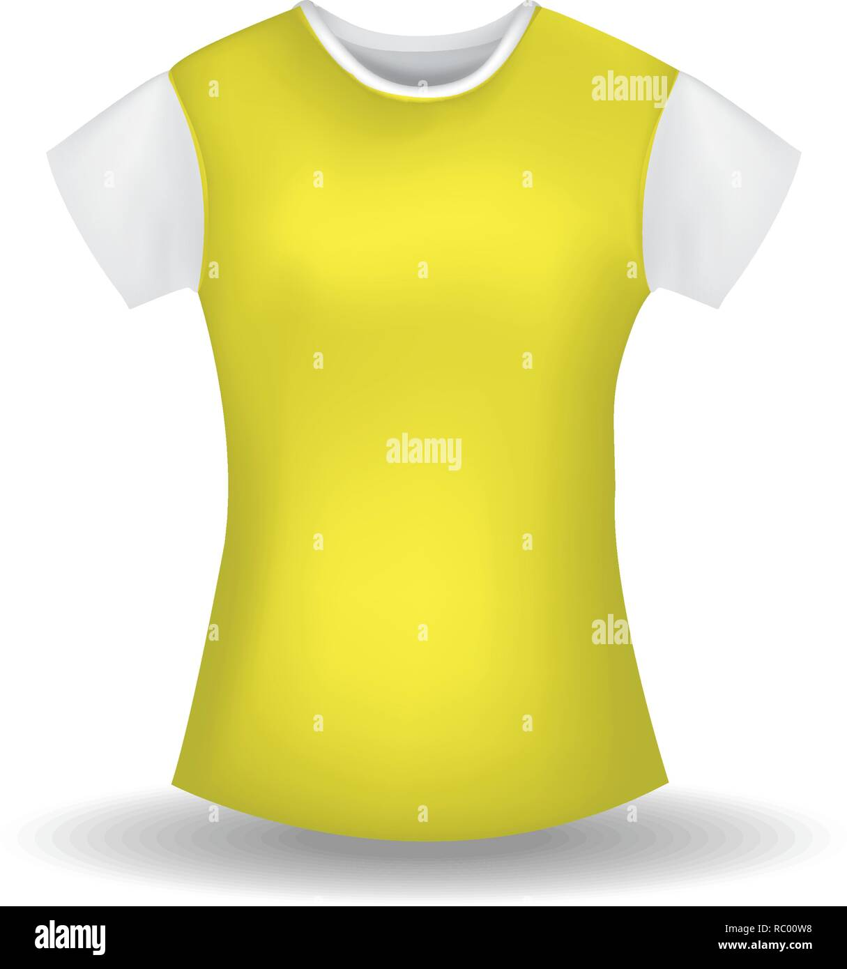 t shirt mockup vector