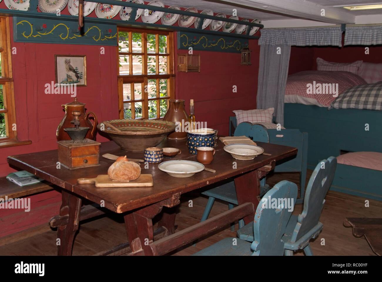 Spreewaldmuseum Lehde, Spreewald, Landkreis Oberspreewald-Lausitzkreis, Land Brandenburg, Deutschland, Europa | Spreewaldmuseum Lehde, Spreewald, dist - Stock Image