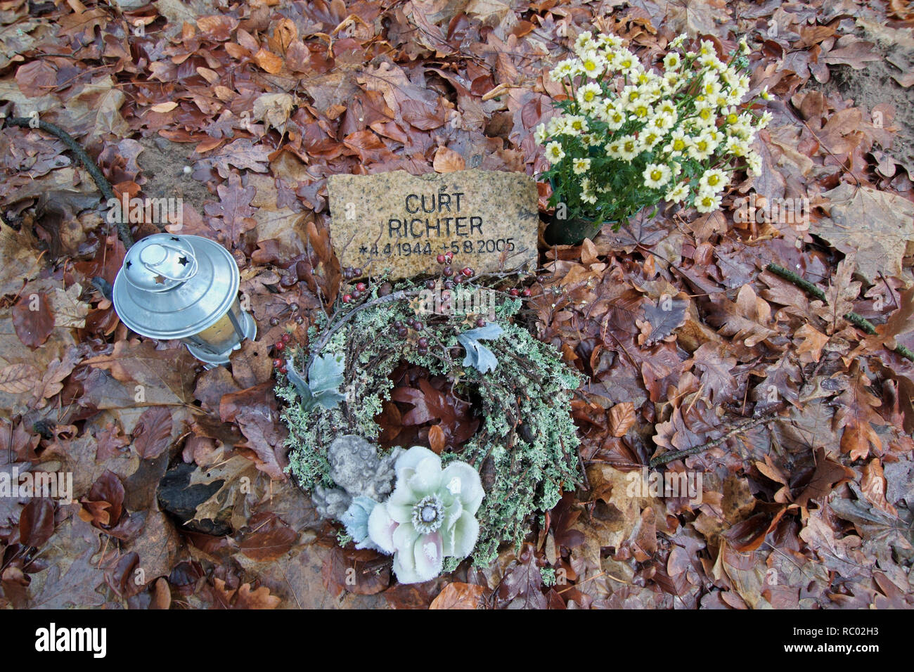 Südwest Kirchhof Stahnsdorf, Berlin, Deutschland, Europa   Southwest Churchyard Stahnsdorf, Berlin, Germany, Europe - Stock Image