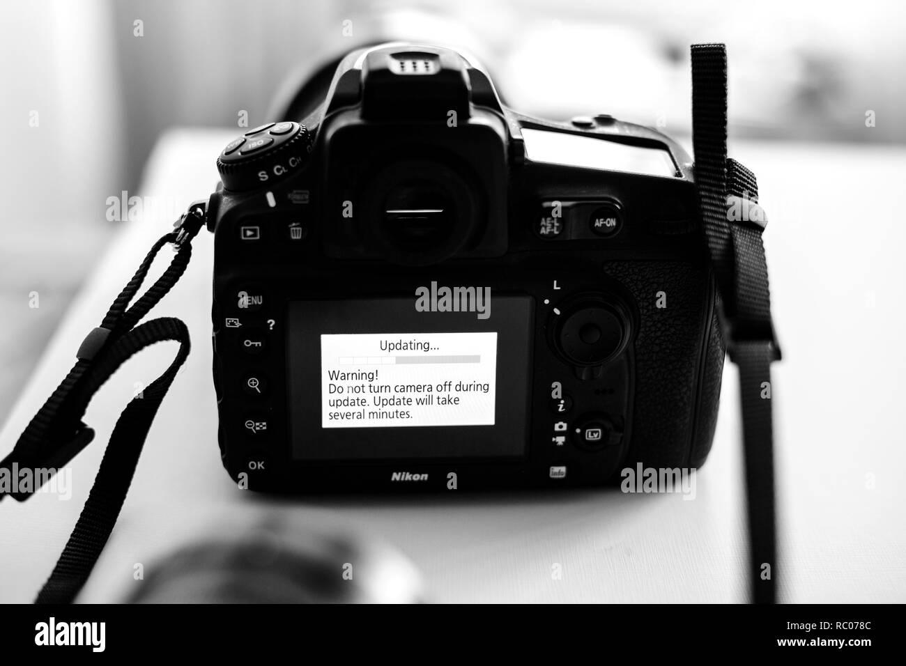 Dslr Nikon Stock Photos & Dslr Nikon Stock Images - Alamy