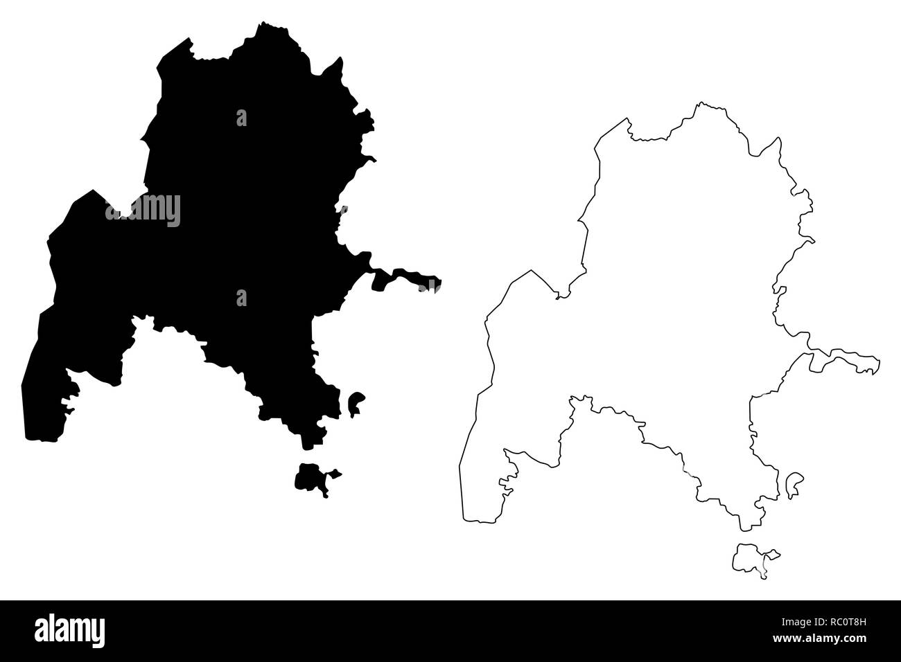 World Map Ethiopia Cut Out Stock Images & Pictures - Alamy