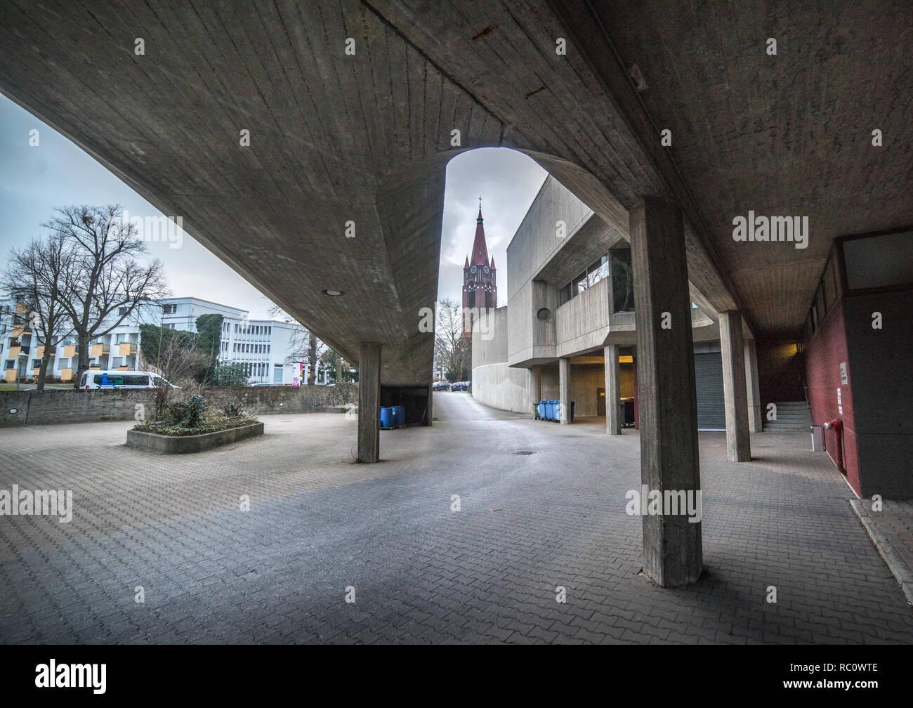Berlin, Krahmerstr. Institit für Hygiene und Umweltmedizin - Stock Image