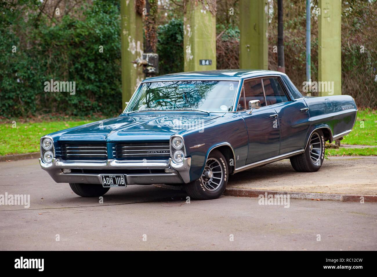 Pontiac Parisienne Stock Photo Alamy