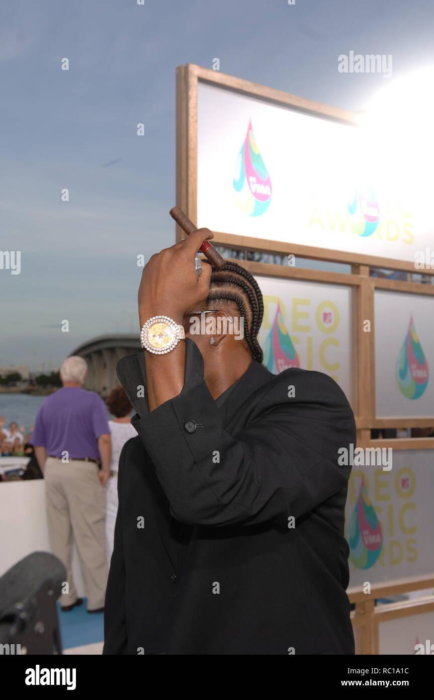 FILE PHOTOS: Miami Beach, U S A  28th Aug, 2005  MIAMI