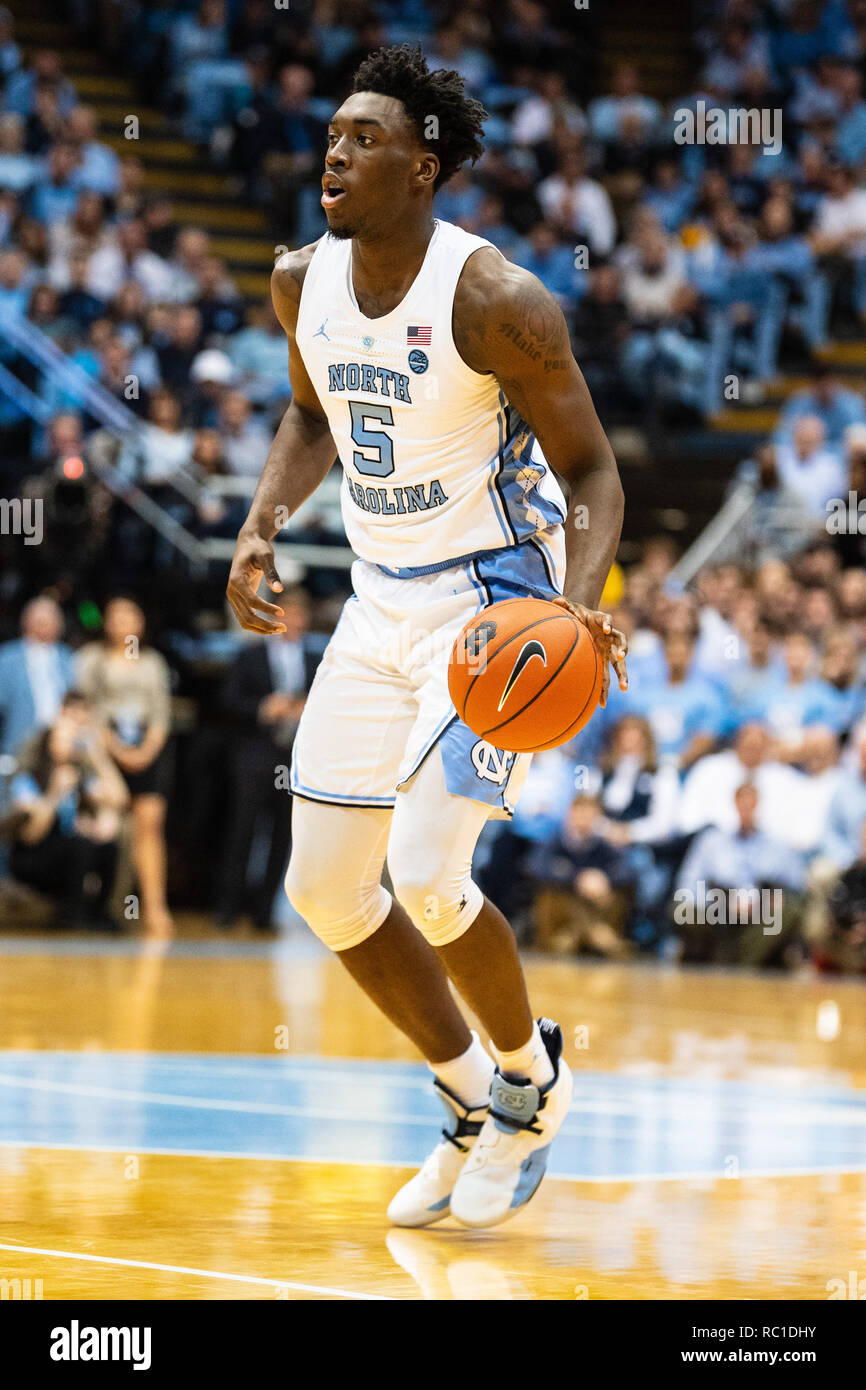 new arrival a3d1f baecd USA, 12th January 2019. North Carolina Tar Heels forward ...