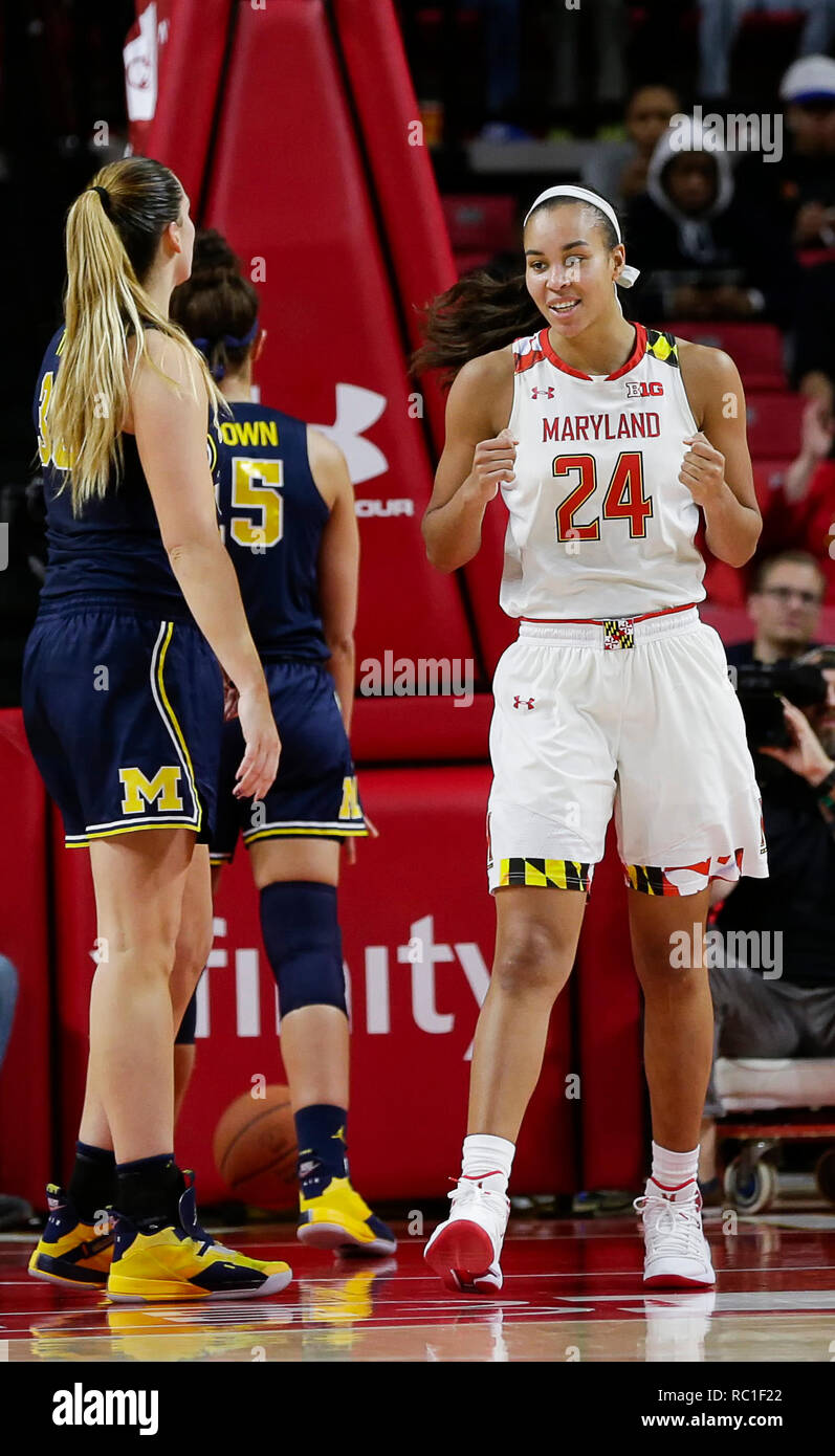 buy online 965f9 b63c6 College Park, MD, USA. 12th Jan, 2019. Maryland Terrapins ...