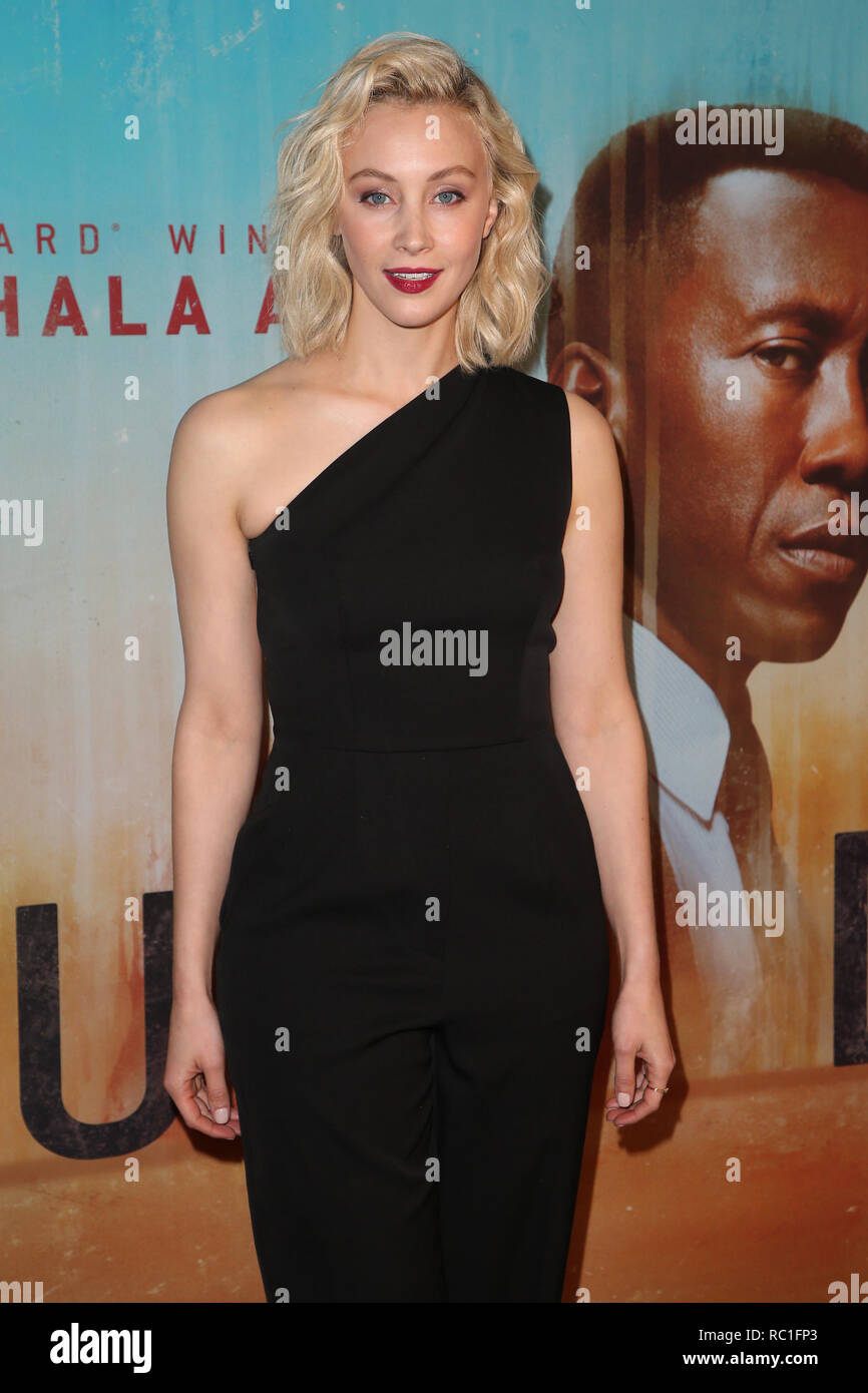Los Angeles, California, USA. 10th Jan, 2019. Sarah Gadon during the 'True Detective' Season 3 Premiere. Credit: Faye Sadou/AdMedia/ZUMA Wire/Alamy Live News Stock Photo