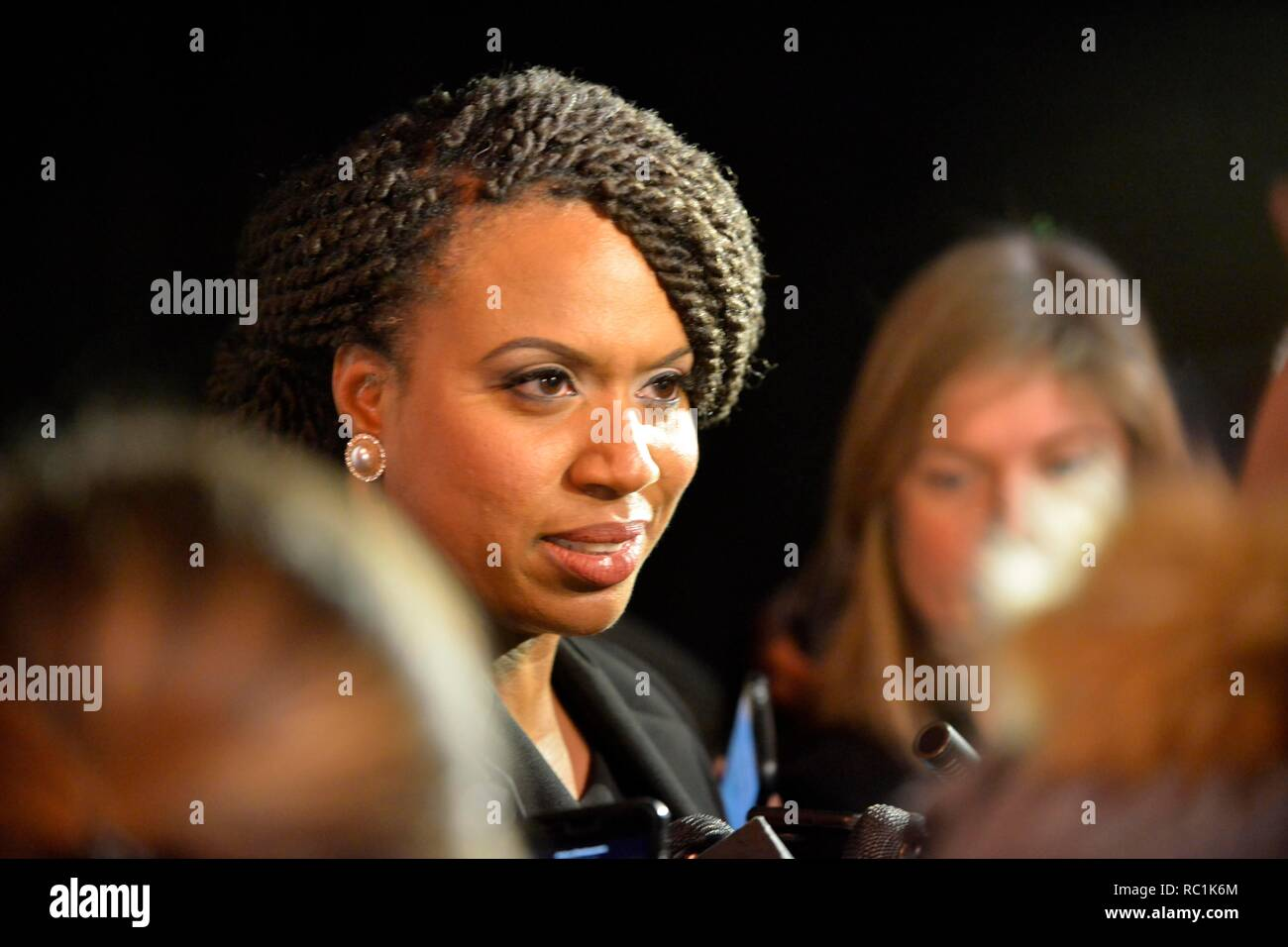 Boston, Massachusetts, USA  12th Jan, 2019  AYANNA PRESSLEY