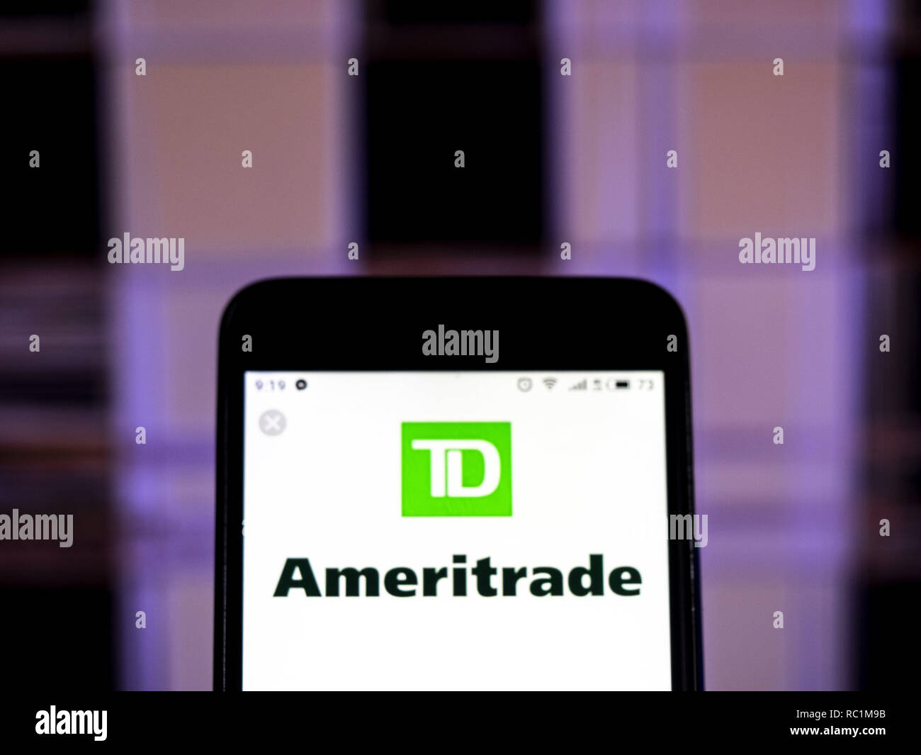 Td Ameritrade Mobile Stock Photos & Td Ameritrade Mobile Stock