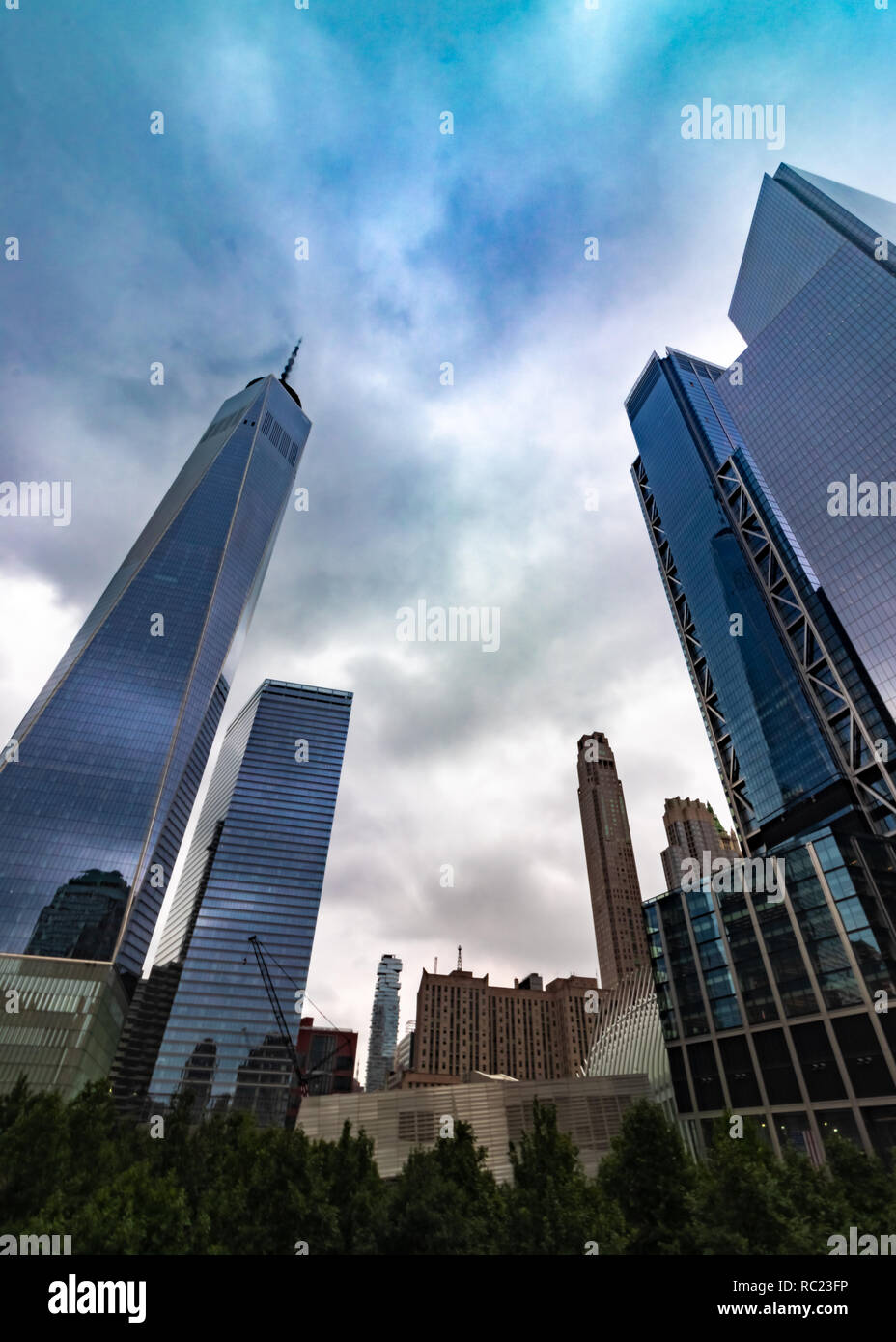 World Trade Center NYC - Stock Image