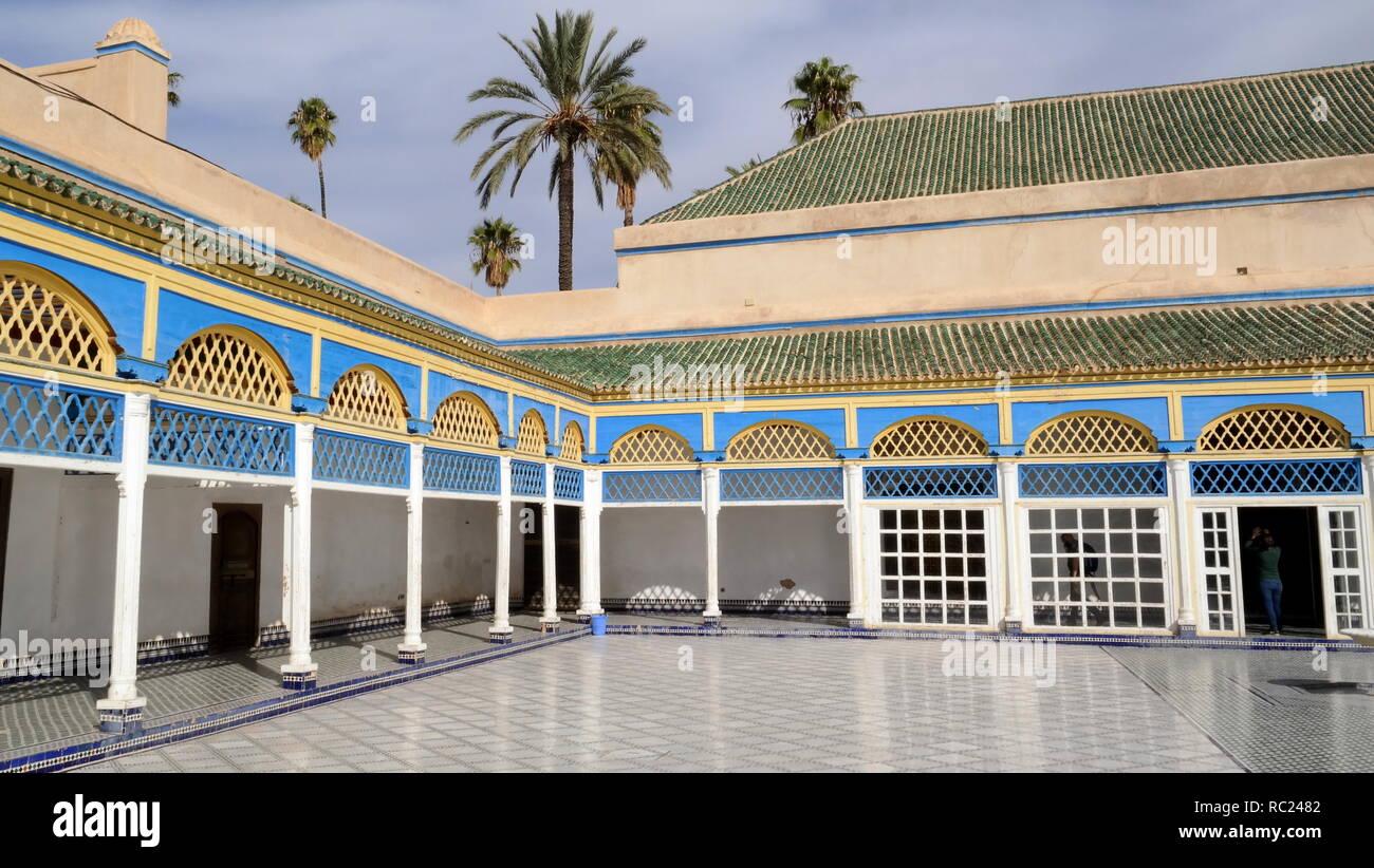 Palais de la Bahia - Stock Image