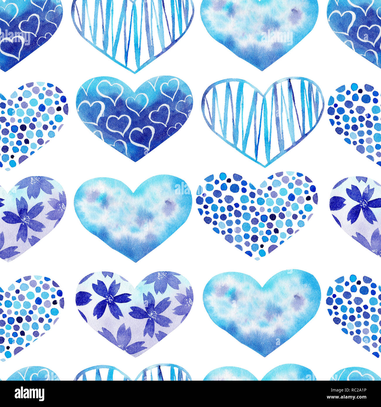 Unduh 45 Background Blue Heart HD Gratis